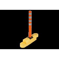 90 cm Şerit Ayırıcılar - Yüksek Model - 100 cm Delinatörlü  UT 2410