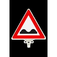 Kasisli Yol Uyarı Levhası ÇİFT YÖN UT 2806
