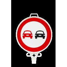 Öndeki Taşıtı Geçmek Yasaktır Uyarı Levhası TEK YÖN UT 2906