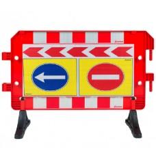 Plastik Trafik Bariyerleri (Baskılı) UT 2441
